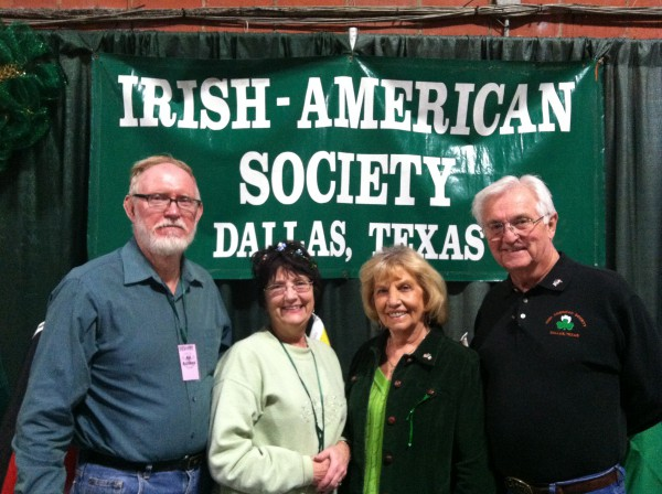 Larry, Sheila, Marie and Richard manning the IAS booth