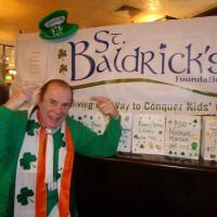 St Baldrick's: Genial Ambassador Leo Crowley.